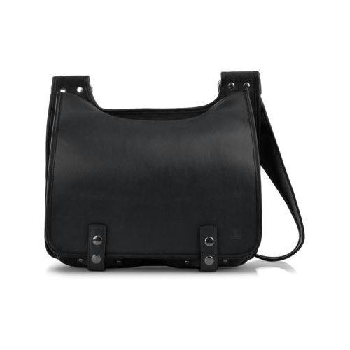 Bookcase torba na ramię czarna