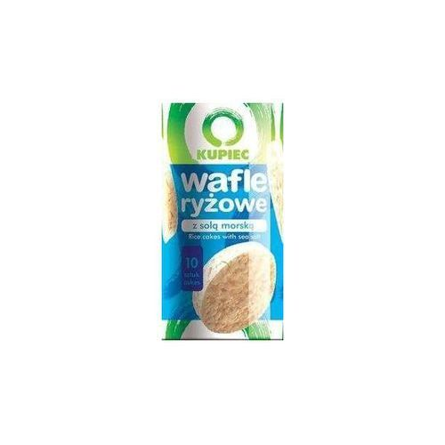 Kupiec Wafle ryżowe z solą morską a'12 120 g
