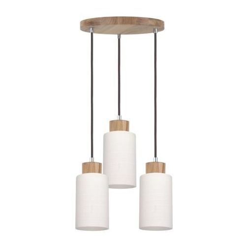 SPOT-LIGHT BOSCO Lampa wisząca Dąb olejowany/Antracyt 3XE27-60W 1711574
