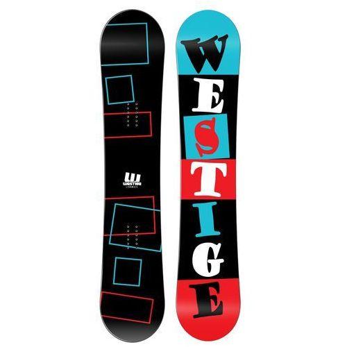 Westige snowboard square wide black 167, model 15/16 (8592524201947)