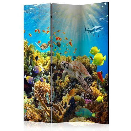 Parawan 3-częściowy - Podwodny świat [Room Dividers]