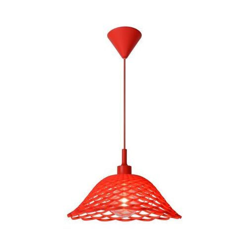 Lucide 08409/37/32 lampa wisząca corti czerwień