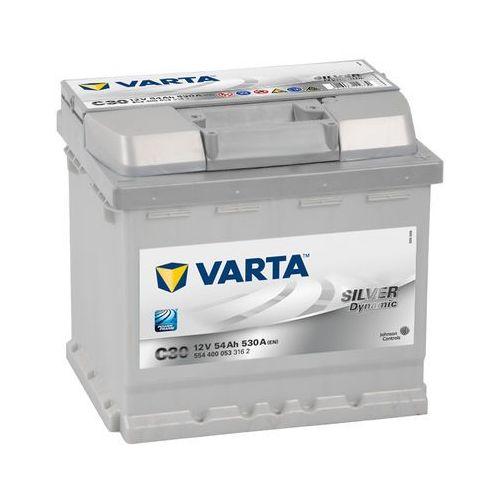 Akumulator VARTA C30 Silver Dynamic 54Ah 530A L-