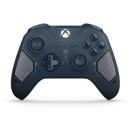 Kontroler bezprzewodowy do konsoli xbox one - wersja specjalna patrol tech (granatowy) marki Microsoft