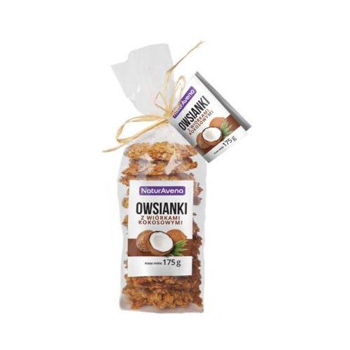 175g ciastka owsianki z wiórkami kokosowymi marki Naturavena