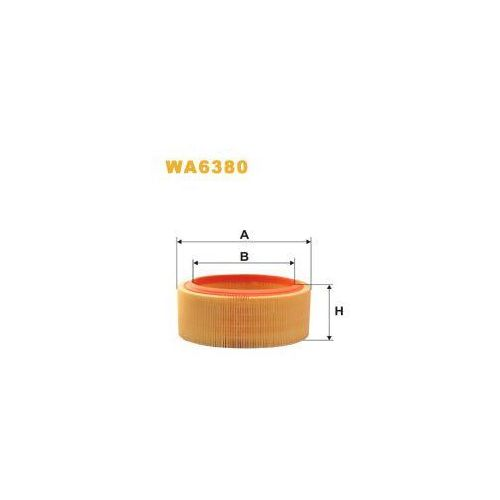 Filtr powietrza ar 131 / wa6380 od producenta Wix