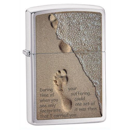 Zippo Zapalniczka  time of surfing, brushed chrome