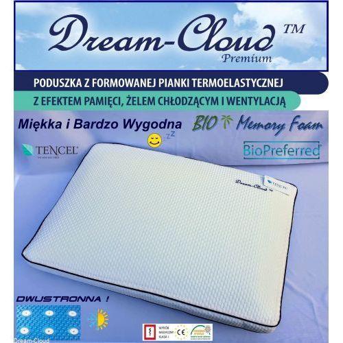 Poduszka Dream-Cloud Premium Bio Chłodząca-Wentylowana 60x40x14cm