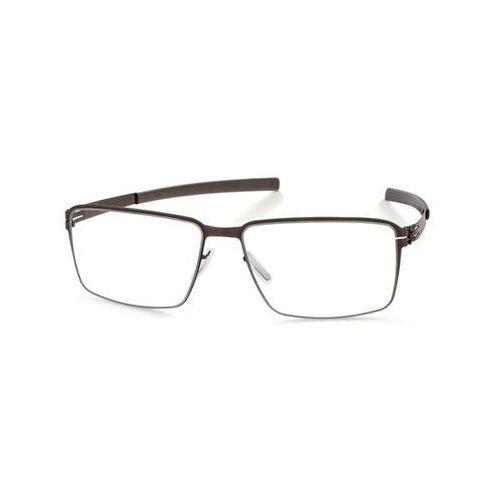 Okulary korekcyjne m1345 jens k. graphite marki Ic! berlin