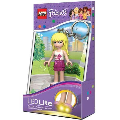 Mini latarka led key light - lego friends stephanie- brelok marki Lego