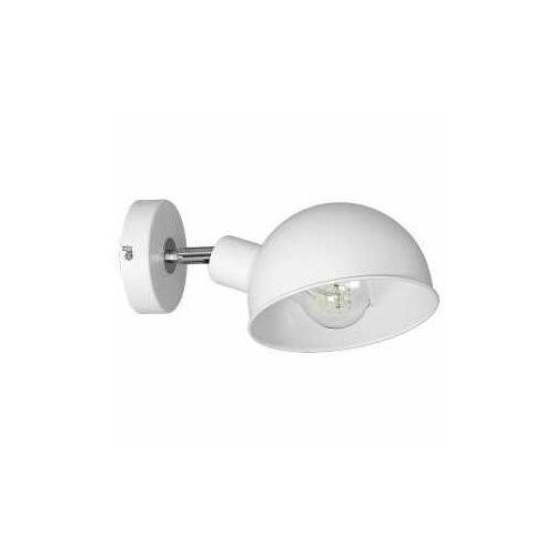 Kinkiet lampa ścienna devin 1x60w e27 biały 1273 >>> rabatujemy do 20% każde zamówienie!!! marki Luminex