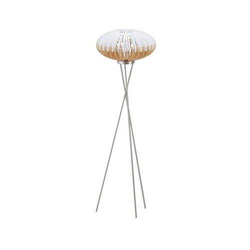 Eglo 96966 - Lampa podłogowa SOTOS 1xE27/60W/230V, kolor biały