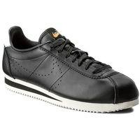 Buty NIKE - Classic Cortez Leather Prem 861677 005 Black/Black/Lt Orewood Brn, kolor czarny