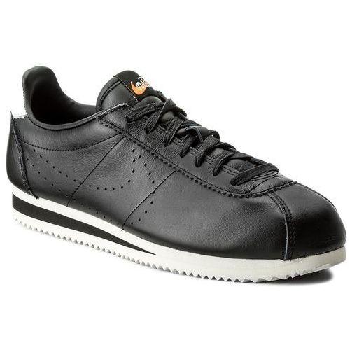 Buty - classic cortez leather prem 861677 005 black/black/lt orewood brn marki Nike