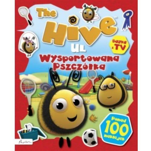 The hive ul wysportowana pszczółka książka z naklejkami i nie tylko marki Papilon