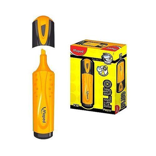 Zakreślacz fluo peps pomarańczowy 742535 marki Maped