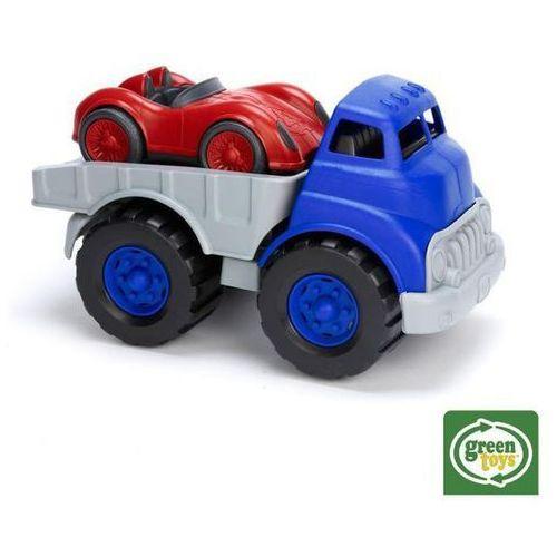 BIGJIGS Green Toys - Ciężarówka z platformą - produkt z kategorii- Ciężarówki