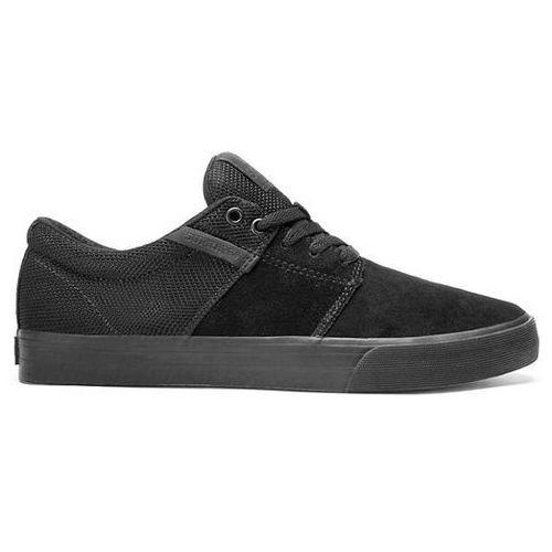 buty SUPRA - Stacks Vulc Ii Black/Black-Black (BBB) rozmiar: 45, kolor czarny