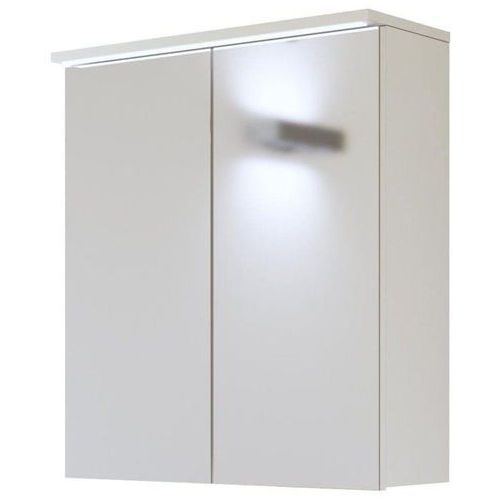 Szafka łazienkowa z lustrem GALAXY BIAŁY 840