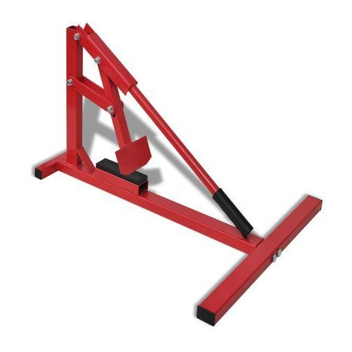 vidaXL Profesjonalny sprzęt do zmiany opon motocyklowych, czerwony - sprawdź w wybranym sklepie