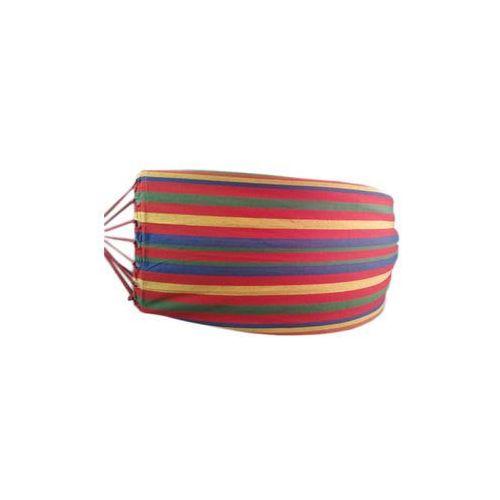 Hamak dwuosobowy kolorowy mocny 150x190cm izimarket.pl, KX8626