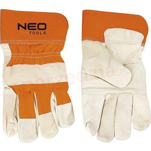 Neo Rękawice robocze 97-602 biało-pomarańczowy (rozmiar 10.5)