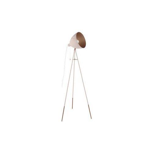 Lampa podłogowa Eglo Chester-P 49039 1x60W E27 pastelowa morela