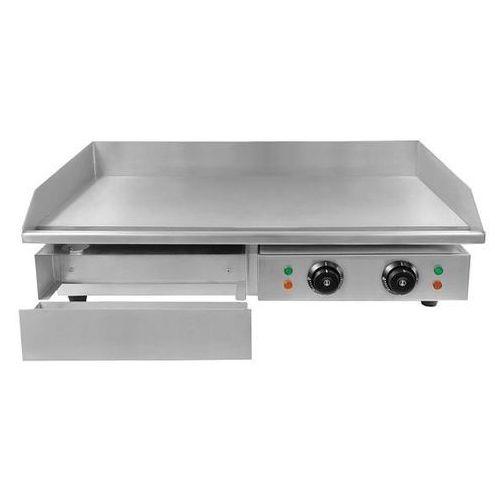 Soda pluss Płyta grillowa elektryczna gładka cookpro | 50-300 °c | 3000w | 230v | 740x430x(h)230mm