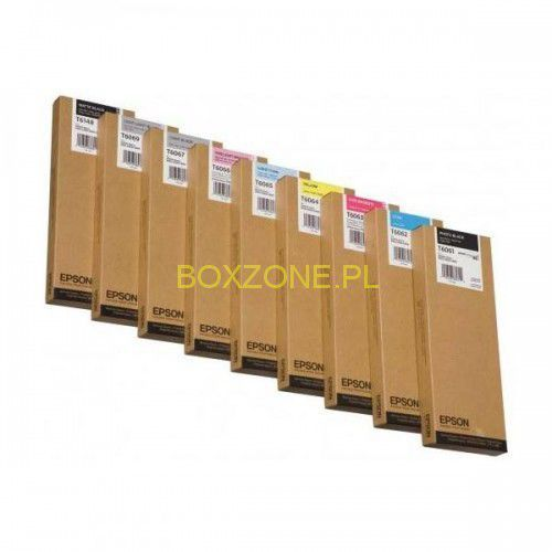 Epson oryginalny ink C13T606700, light black, 220ml, Epson Stylus Pro 4800, 4880, IEPB606700BG (6292830)