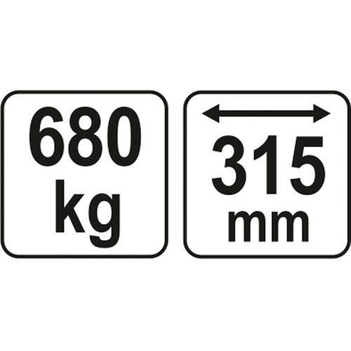 TRAWERS-BALANSER DO ŻURAWIA UDŹWIG 680KG YATO YT-55565 (5906083555657)