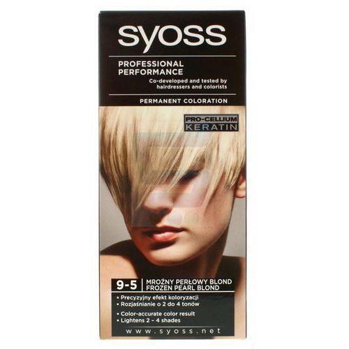 syoss farba do włosów mroźny perłowy blond nr 9-5 1op. - schwarzkopf marki Schwarzkopf