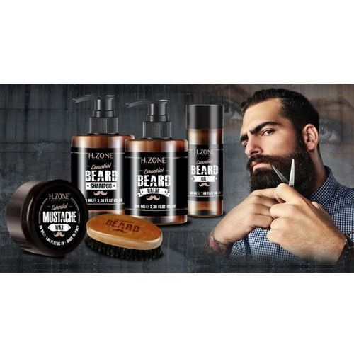 Renee blanche h-zone Renee blanche h.zone beard zestaw olejek, szampon, wosk, balsam, szczotka ronney