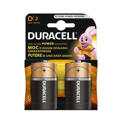 Bateria DURACELL Basic LR20/D (2 szt.)
