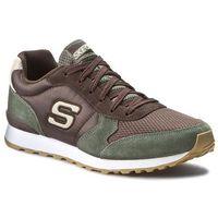 Sneakersy SKECHERS - Early Grab 52310 Olive/Brown, w 8 rozmiarach