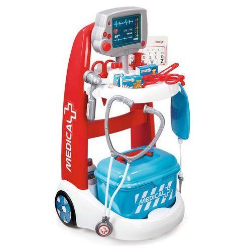 Smoby Elektroniczny wózek medyczny (3032163402022)