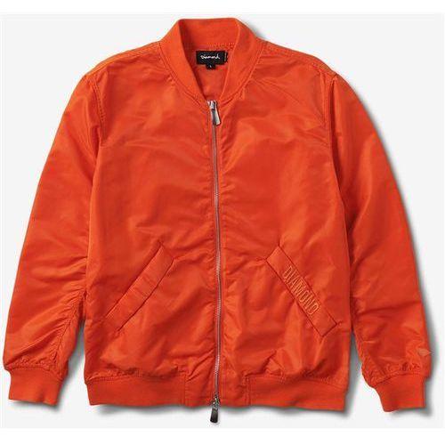 kurtka DIAMOND - Diamond Panelled Bomber Jacket Orange (ORG) rozmiar: L, 1 rozmiar