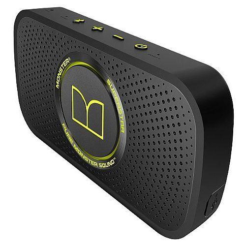 Głośnik mobilny MONSTER SuperStar Zielony Neon Szary (0050644720123)