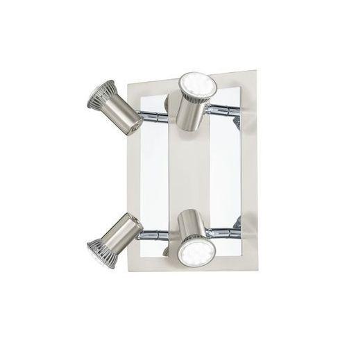 Plafon Eglo Rottelo 90916 lampa sufitowa 4x3W GU10 satyna/chrom (9002759909161)