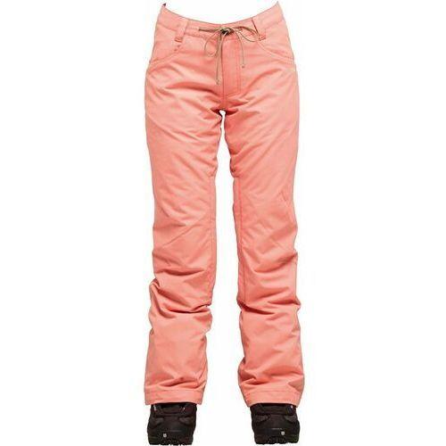 Spodnie - cedar pant burnt coral (bcr) rozmiar: s marki Nikita