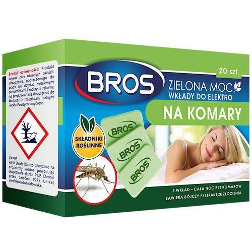Bros 20szt zielona moc wkłady do elektro na komary (5904517105614)