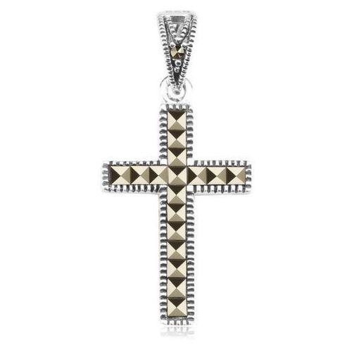 Srebrny krzyżyk cdm3440 - markazyty marki Staviori