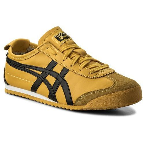 Asics Sneakersy - onitsuka tiger mexico 66 dl408 yellow/black 0490