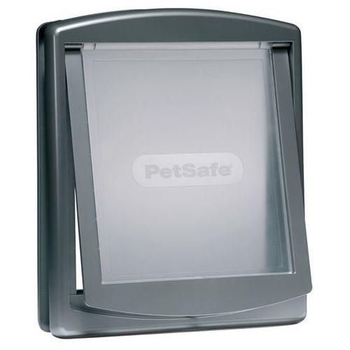 Petsafe staywell Srebrne drzwi marki petsafe dla średnich psów