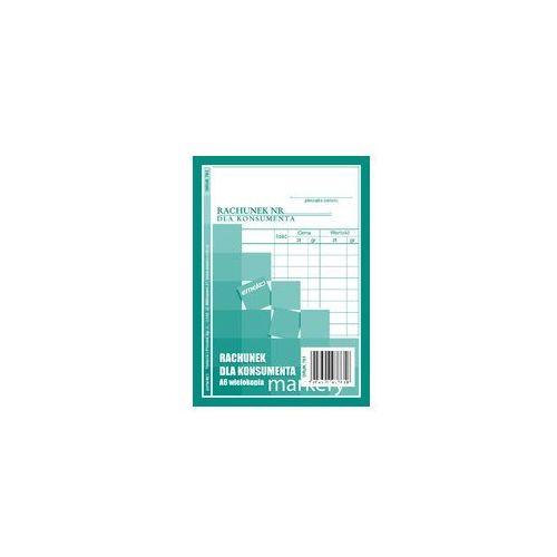 Druk Rachunek dla konsumenta samokopia A6, DR761