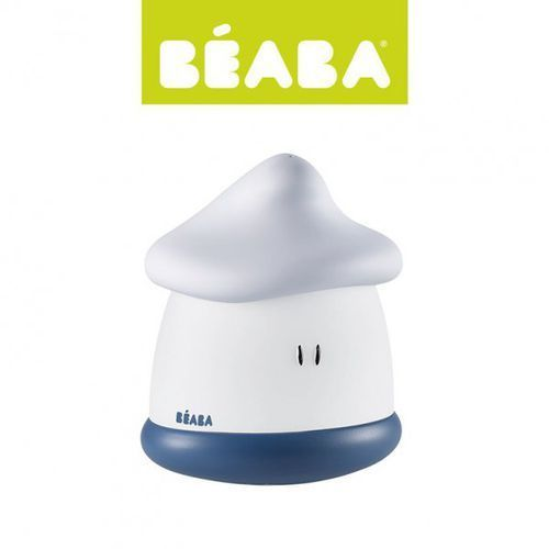Beaba Lampka nocna led przenośna pixie soft 200h świecenia mineral,