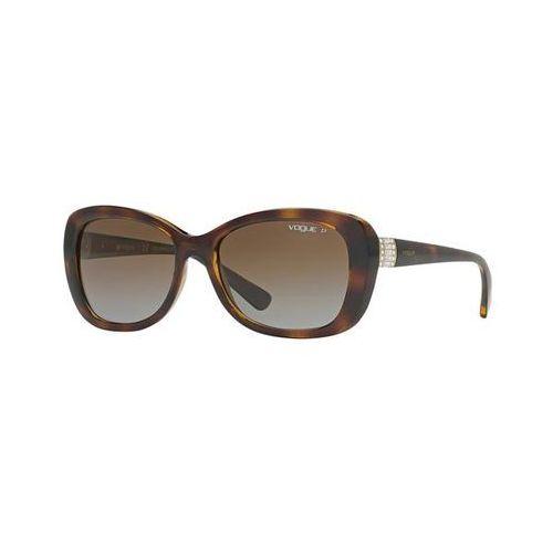 Okulary słoneczne vo2943sb timeless polarized w656t5 marki Vogue eyewear