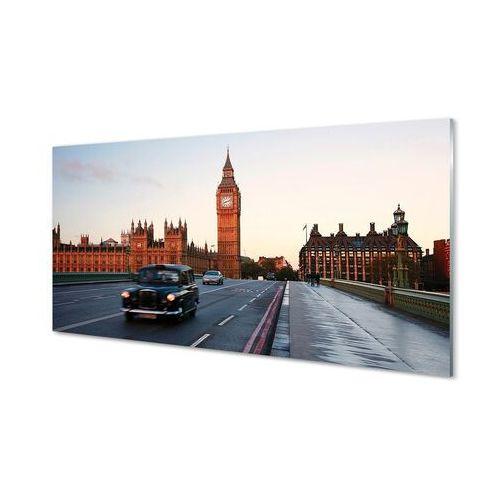 Obrazy akrylowe Miasto niebo ulica samochody