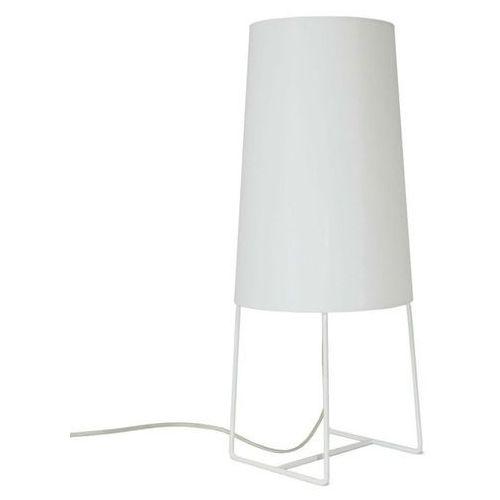 Fraumaier Minisophie-lampa stojąca metal & perkal wys.46cm