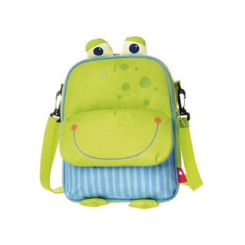 Sigikid plecak & trba na ramie 2w1 żabka (4001190246625)