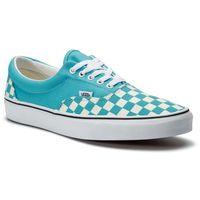 Tenisówki - era vn0a38frvow1 (checkerboard) scuba blue marki Vans